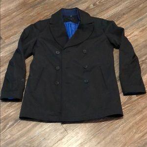 Banana Republic Black Rain Coat
